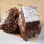 Šokoladinis keksas (Brownie's) su riešutais
