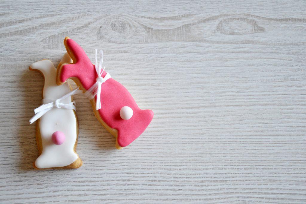 Valentine shortbread cookies
