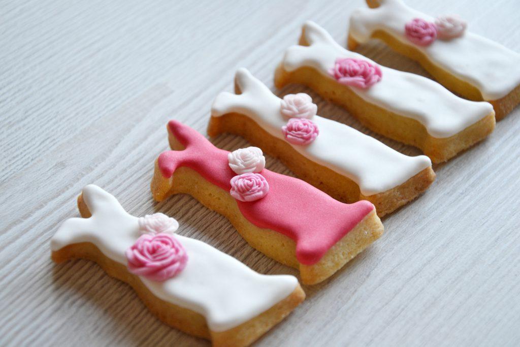 Valentine Shortbread Cookies with Sugar Icing