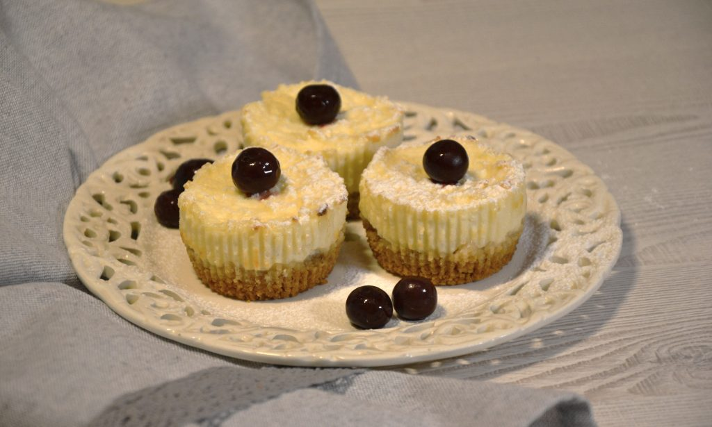 Trupininio pyrago keksiukai su varške