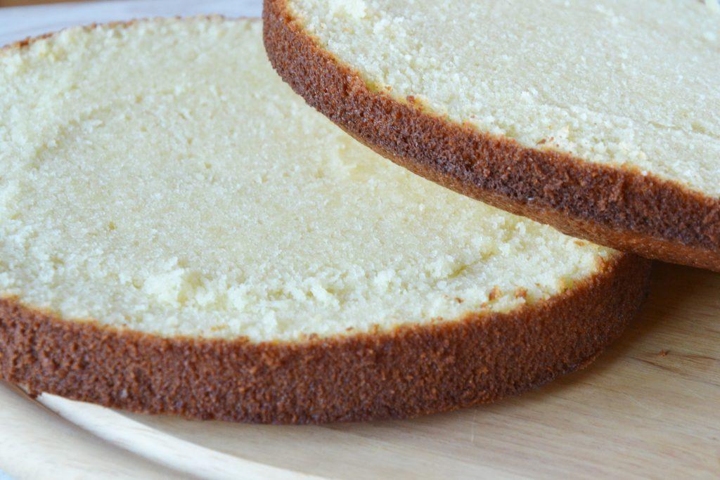 Vanilinis biskvitas tortams ir pyragams