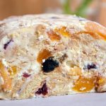 Curd Cheese Bars with Dried Fruits