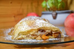 Easy Homemade Apple Strudel in Phyllo Dough