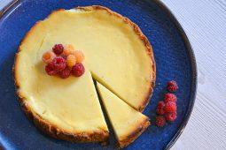 Švelnus kąsnis. Rikotos ir grietinėlės sūrio pyragas